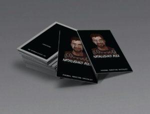 Персональный интернет сайт – визитка СММщика, Наталушко А. Н. О себе. Пример личного бренда
